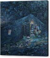Trapp Family Lodge Cabin Sunrise Stowe Vermont Canvas Print
