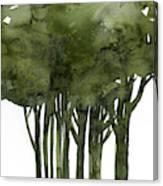 Tree Impressions 1b Canvas Print