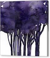 Tree Impressions 1g Canvas Print