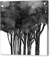 Tree Impressions 1l Canvas Print