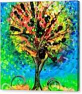 Tree Of Faith Canvas Print