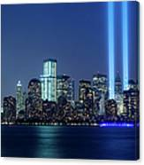 Tribute In Lights Canvas Print
