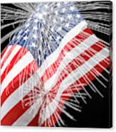 Tribute To The Usa Canvas Print