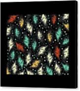 Tropical Design Pattern Canvas Print