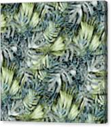 Tropical Leaves I Canvas Print