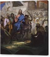 Try Of Christ Into Jerusalem, 1876 Canvas Print
