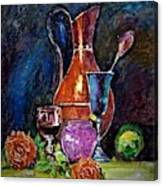 Tulip In Still Life Canvas Print