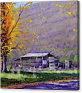 Tumut Valley Farm Shed Canvas Print