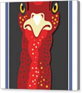 Turkey Stare Jp Canvas Print