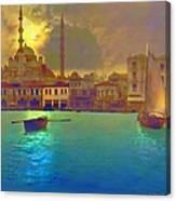 Turkish  Moonlight Canvas Print
