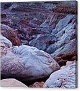Twilight Landscape At Paria Rimrocks Canvas Print