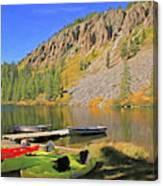 Twin Lakes Canvas Print