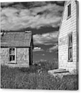 Two Sheds In Blue Rocks #2 Canvas Print