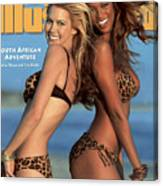 Tyra Banks And Valeria Mazza Swimsuit 1996 Sports Illustrated Cover Canvas Print