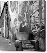 U Street Chair Washington Dc Canvas Print