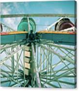 Under The Ferris Wheel Canvas Print