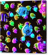 Underwater Glow Canvas Print