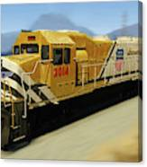 Union Pacific 2014 At Work Canvas Print