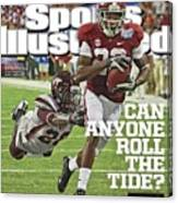 University Of Alabama Vs Virginia Tech, 2013 Chick-fil-a Sports Illustrated Cover Canvas Print