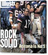 University Of Arizona, 1994 College Football Preview Issue Sports Illustrated Cover Canvas Print