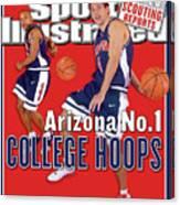 University Of Arizona Luke Walton And Jason Gardner Sports Illustrated Cover Canvas Print