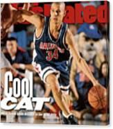 University Of Arizona Miles Simon, 1997 Ncaa National Sports Illustrated Cover Canvas Print