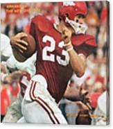 University Of Arkansas Harry Jones Sports Illustrated Cover Canvas Print