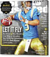 University Of California Los Angeles Josh Rosen, 2016 Sports Illustrated Cover Canvas Print