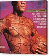 University Of Cincinnati Danny Fortson, 1996-97 College Sports Illustrated Cover Canvas Print
