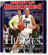 University Of Connecticut Diana Taurasi, 2003 Ncaa Womens Sports Illustrated Cover Canvas Print