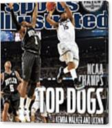 University Of Connecticut Vs Butler University, 2011 Ncaa Sports Illustrated Cover Canvas Print