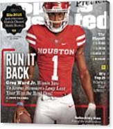 University Of Houston Greg Ward Jr., 2016 College Football Sports Illustrated Cover Canvas Print