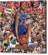 University Of Kansas Marcus Morris, 2011 March Madness Sports Illustrated Cover Canvas Print