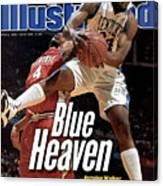 University Of Kentucky Antoine Walker, 1996 Ncaa National Sports Illustrated Cover Canvas Print