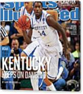 University Of Kentucky Michael Kidd-gilchrist, 2012 Ncaa Sports Illustrated Cover Canvas Print