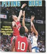University Of Louisville Pervis Ellison, 1986 Ncaa National Sports Illustrated Cover Canvas Print