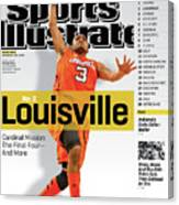 University Of Louisville Peyton Siva, 2012-13 College Sports Illustrated Cover Canvas Print