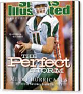 University Of Miami Qb Ken Dorsey, 2001 Ncaa National Sports Illustrated Cover Canvas Print
