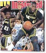 University Of Michigan Glen Rice, 1989 Ncaa National Sports Illustrated Cover Canvas Print