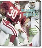 University Of Nebraska Mike Rozier, 1983 Kickoff Classic Sports Illustrated Cover Canvas Print
