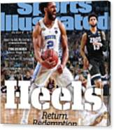 University Of North Carolina, 2017 Ncaa National Champions Sports Illustrated Cover Canvas Print