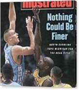 University Of North Carolina Eric Montross, 1993 Ncaa Sports Illustrated Cover Canvas Print