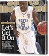 University Of North Carolina Ty Lawson, 2009 Ncaa South Sports Illustrated Cover Canvas Print