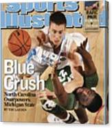 University Of North Carolina Tyler Hansbrough, 2009 Ncaa Sports Illustrated Cover Canvas Print