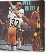 University Of Pittsburgh Qb Matt Cavanaugh, 1977 Sugar Bowl Sports Illustrated Cover Canvas Print