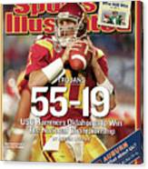 University Of Southern California 2004 Bcs National Sports Illustrated Cover Canvas Print