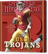 University Of Southern California Reggie Bush, 2004 Sports Illustrated Cover Canvas Print