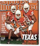 University Of Texas, 2010 College Football Preview Issue Sports Illustrated Cover Canvas Print
