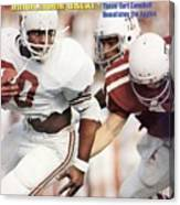 University Of Texas Earl Campbell Sports Illustrated Cover Canvas Print