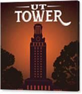 University Of Texas Tower Canvas Print